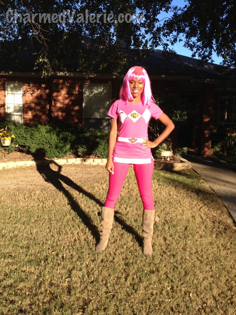 mighty fine shirt mighty morphin parent & What I Wore: Happy Halloween from the Pink Power Ranger - Charmed ...