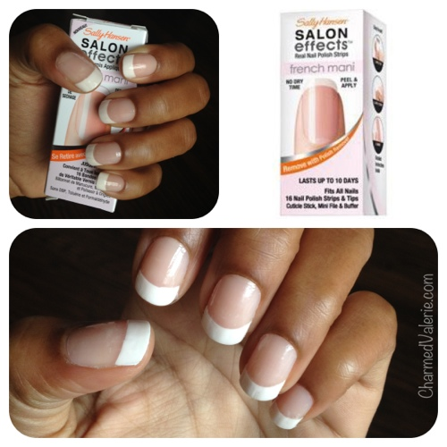 Sally hansen french mani nail polish strips review charmed valerie have solutioingenieria Choice Image