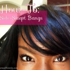 VIDEO: How To Style Side Swept Bangs