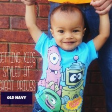 Getting Kids Styled at Great Prices with Old Navy