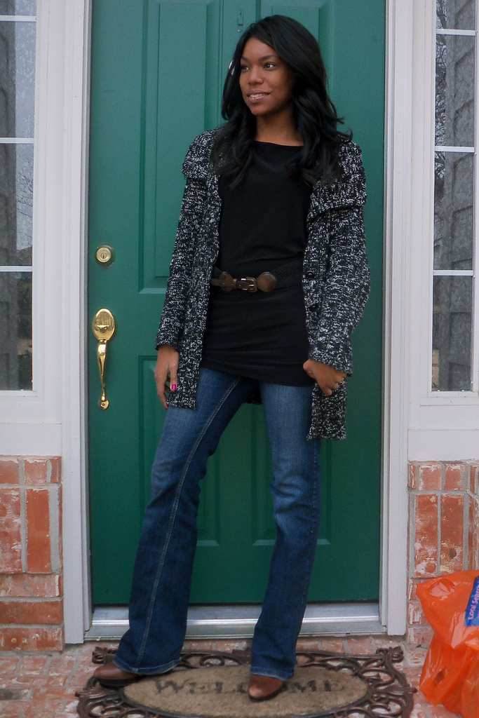 what i wore wearing black and brown together charmed valerie. Black Bedroom Furniture Sets. Home Design Ideas