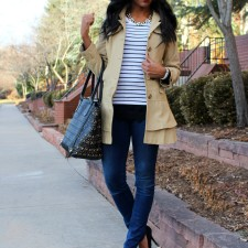 Minimizing My Closet + Parisian Chic Outfit #ootd