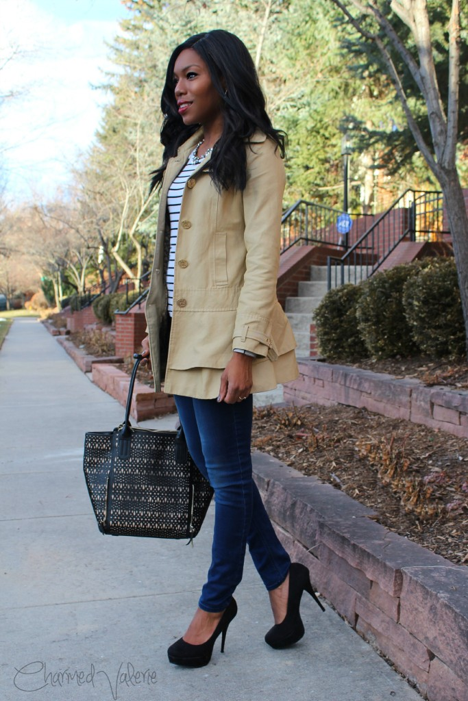 Parisian Chic Outfit #ootd