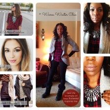 What I Wore: Pinterest Inspired Winter Outfit Idea