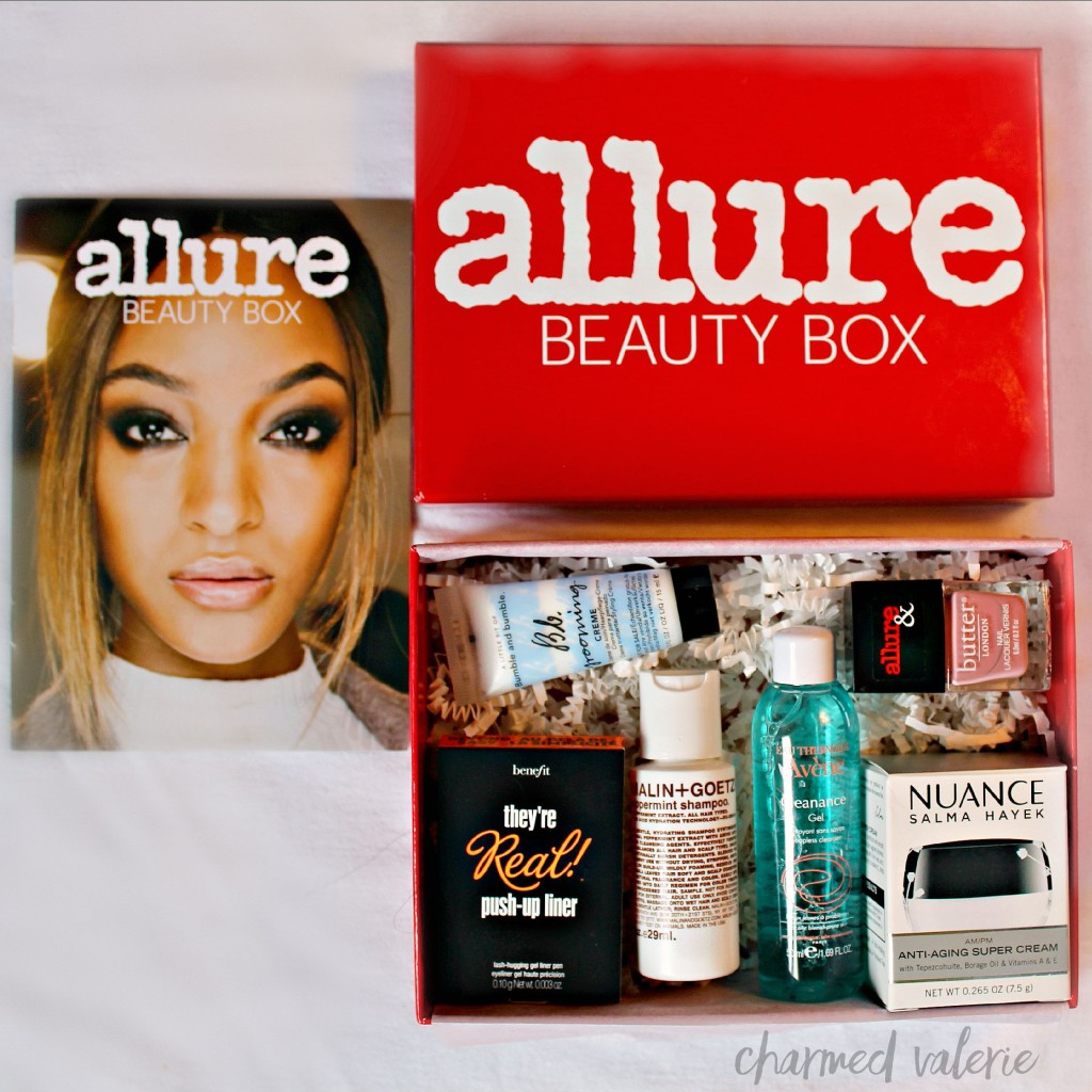 Allure Beauty Box August 2015 Unboxing + Review