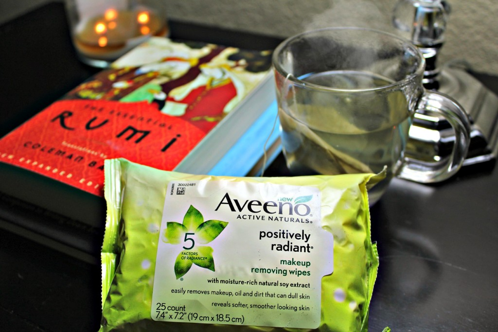 Simplified Bedtime Routine for Beauty, Mind & Spirit #Aveeno