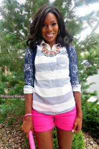 Colorful Preppy Outfit #ootd