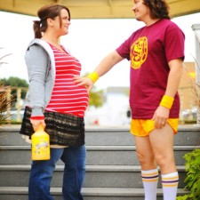 The Perfect Maternity Halloween Costume