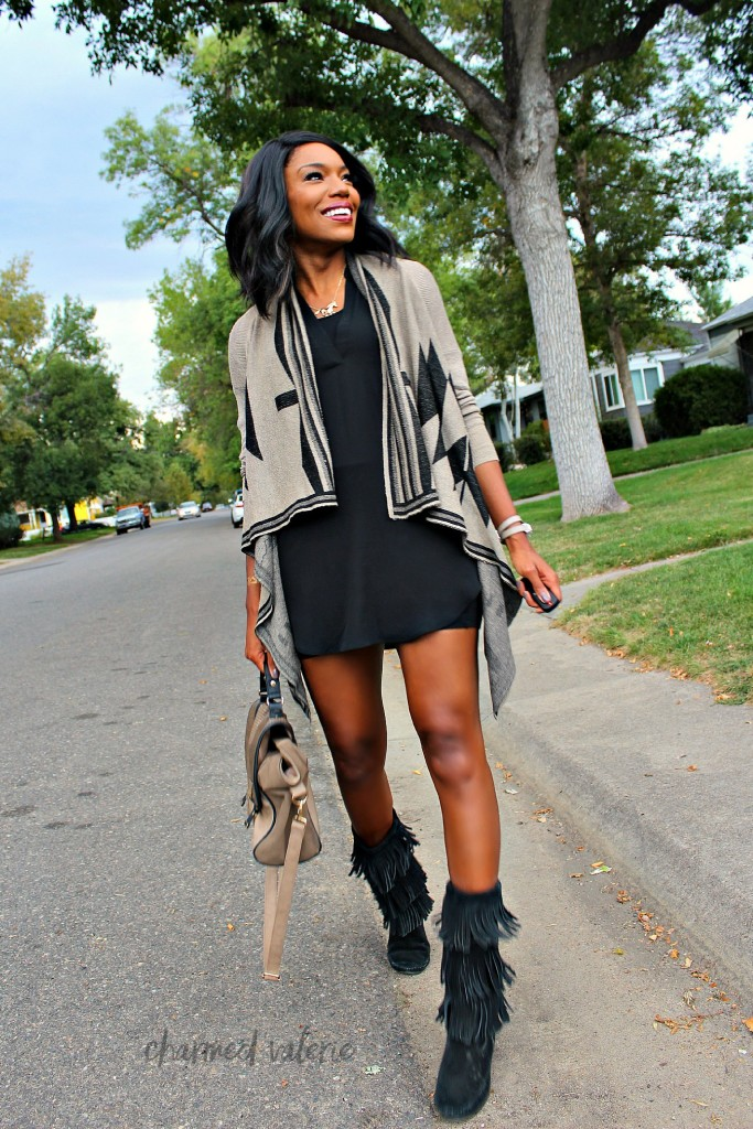 Minnetonka Fringe Boots Outfit Ideas + 13 Ways to Wear Fringe for Fall / Winter 2015