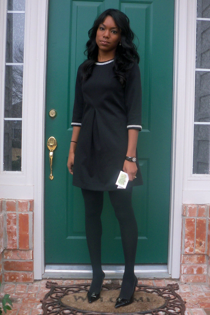 funeral outfit, little black dress