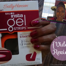 Sally Hansen Salon Insta-Gel Strips ~ Video Product Review