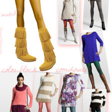 How To Style Colored Tights