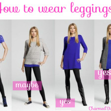 How To Wear Leggings