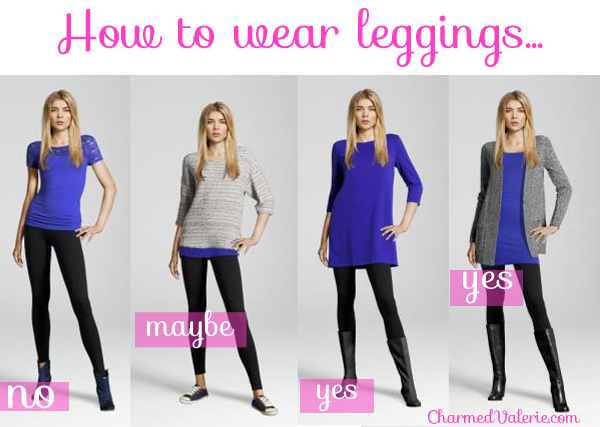 ways to wear leggings