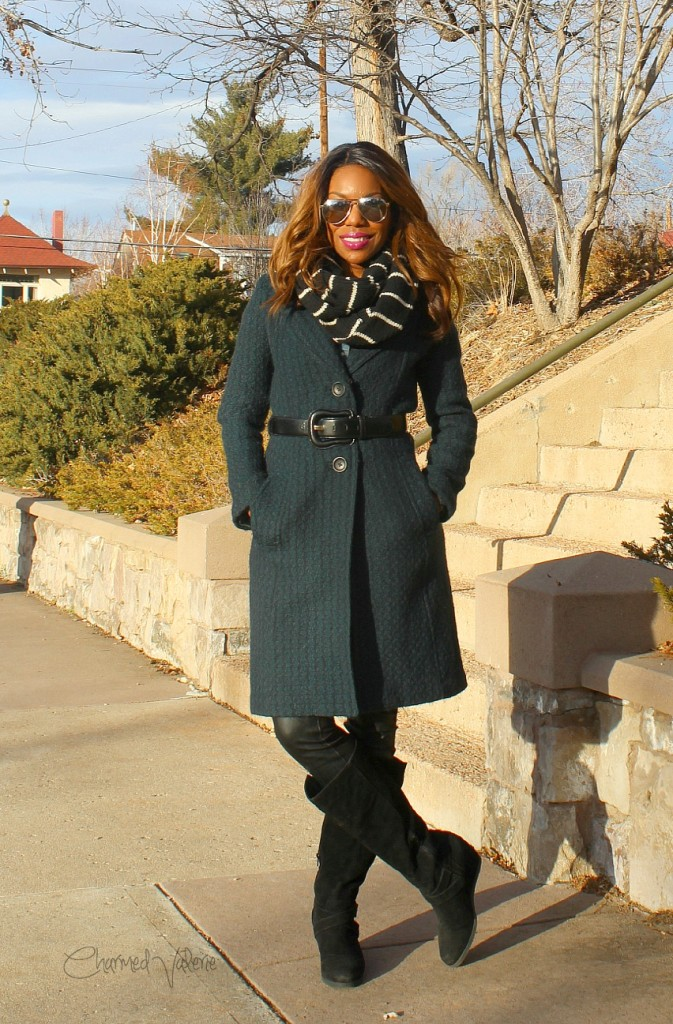Belted Coat Outfit Idea