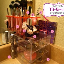 Everyday Make-Up Organization Tips