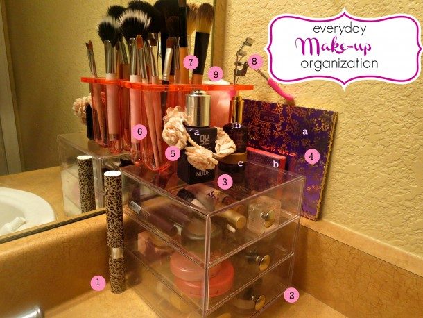 Everyday Make-Up Organization
