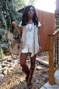 Calf-HIgh Gladiator Sandals Outfit