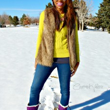 What I Wore: Snow Bright #StyleMeFeb #SORELstyle