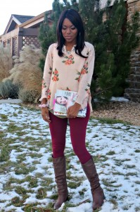 What I Wore: Statement Sweater Weather