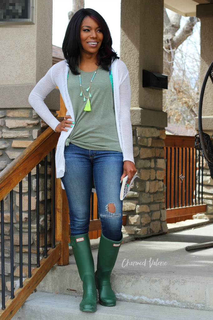 How To Style Rain Boots for Spring